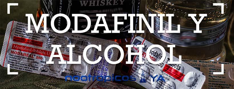 modafinilo y alcohol