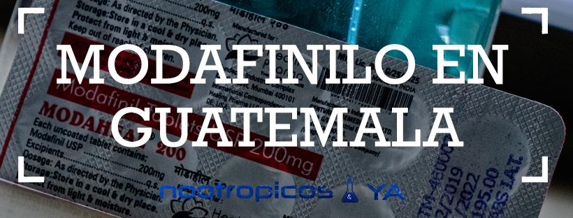 modafinil en guatemala